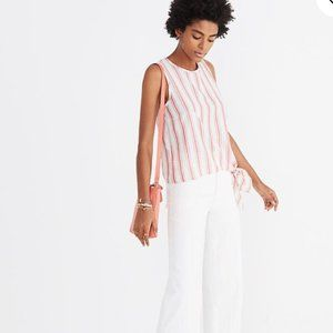 ‼️Madewell Side-Tie Tank in Marcia Stripe